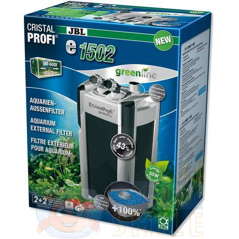 Внешний фильтр для аквариума JBL CristalProfi e1502 greenline