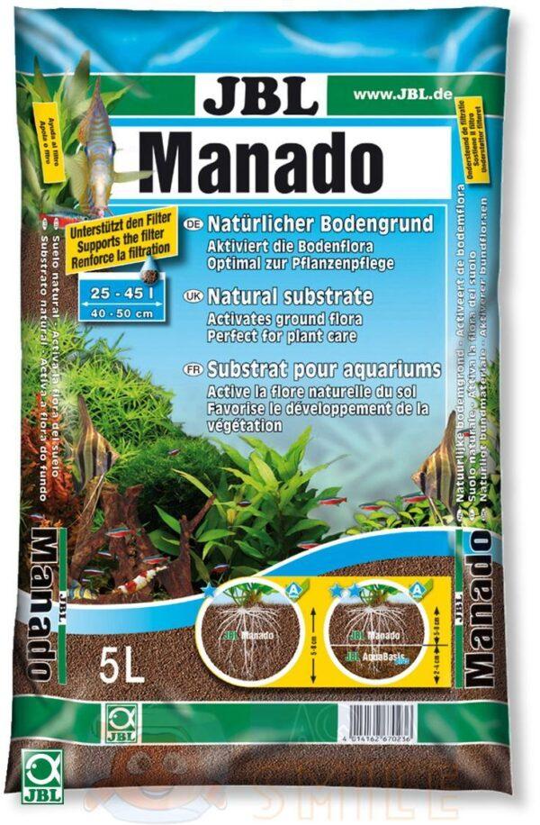 Грунт для аквариума JBL  Manado 0,5 — 2 мм