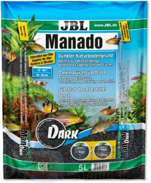 Грунт для аквариума JBL Manado Dark 1,5 — 2,5 мм