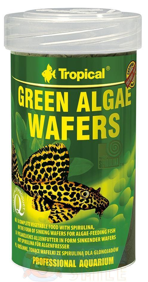 Корм для рыб чипсы Tropical Green Algae Wafers