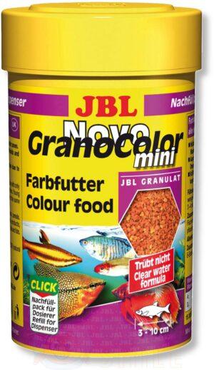 Корм для рыб в гранулах JBL NovoGranoColor mini