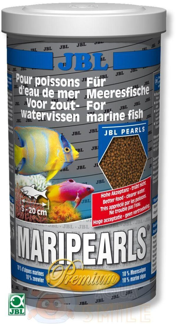 Корм для морских рыб в гранулах JBL MariPearls Premium