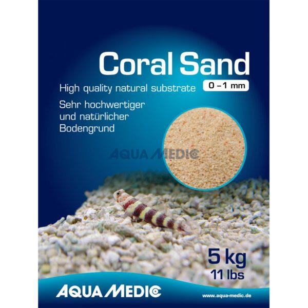 Коралловый песок для аквариума Aqua Medic Coral Sand 2 — 5 мм 25 кг