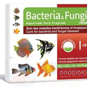 Лекарство для рыбок против бактериальных заболеваний Prodibio Bacteria & Fungi Fresh 6 ампул