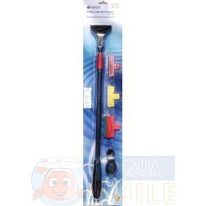 Скребок для аквариума с ручкой Resun DS-36 60-90 см.