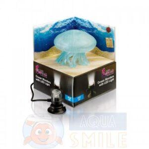 Декорация для аквариума медуза с подсветкой H2shOw OCEAN WONDERS: JELLYFISH