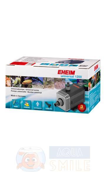 Помпа для аквариума EHEIM universal 1200 10 м. шнур питания