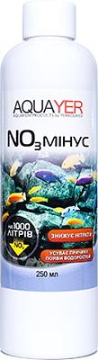 Кондиционер для аквариума AQUAYER NO3 минус 250 мл