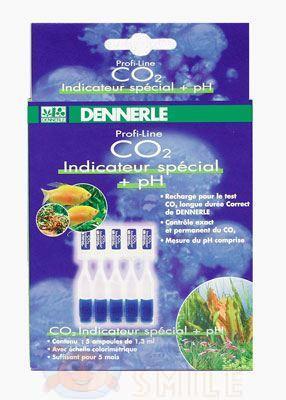 Реагент Dennerle СО2 комплект специальных индикаторных жидкостей pH