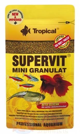 Корм для рыб в гранулах Tropical SuperVit Mini Granulat