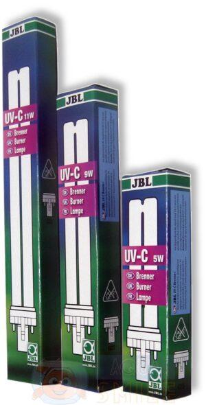 Сменная УФ лампа для стерилизатора JBL UV-C bulb 11 Вт