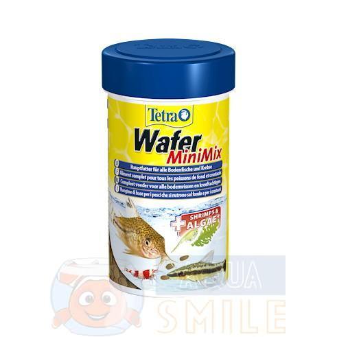 Корм для рыб чипсы Tetra Wafer Mini Mix  100 мл.