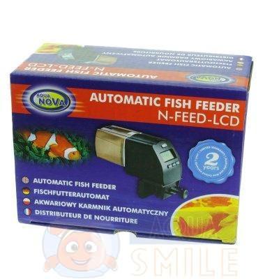 Автоматическая кормушка для рыб Aqua Nova N-FEED AQUARIUM