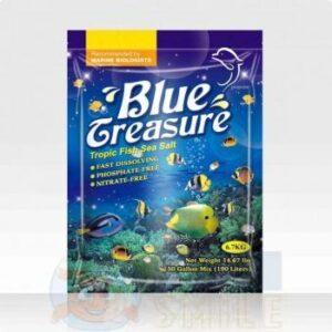 Соль для морского аквариума Blue Treasure для морских тропических рыб