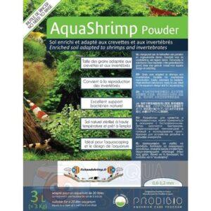 Грунт для аквариума Prodibio AquaShrimp Powder Soil 3 л с набором для старта BacterKit Soil