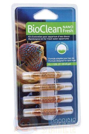 Набор по уходу за аквариумом Prodibio BioClean Fresh Nano 4 ампулы