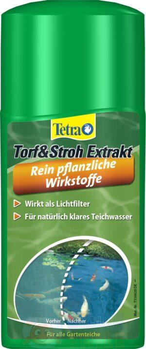 Препарат для предотвращения появления водорослей Tetra Pond Torf & Stroh (AlgoSchutz) 250 мл
