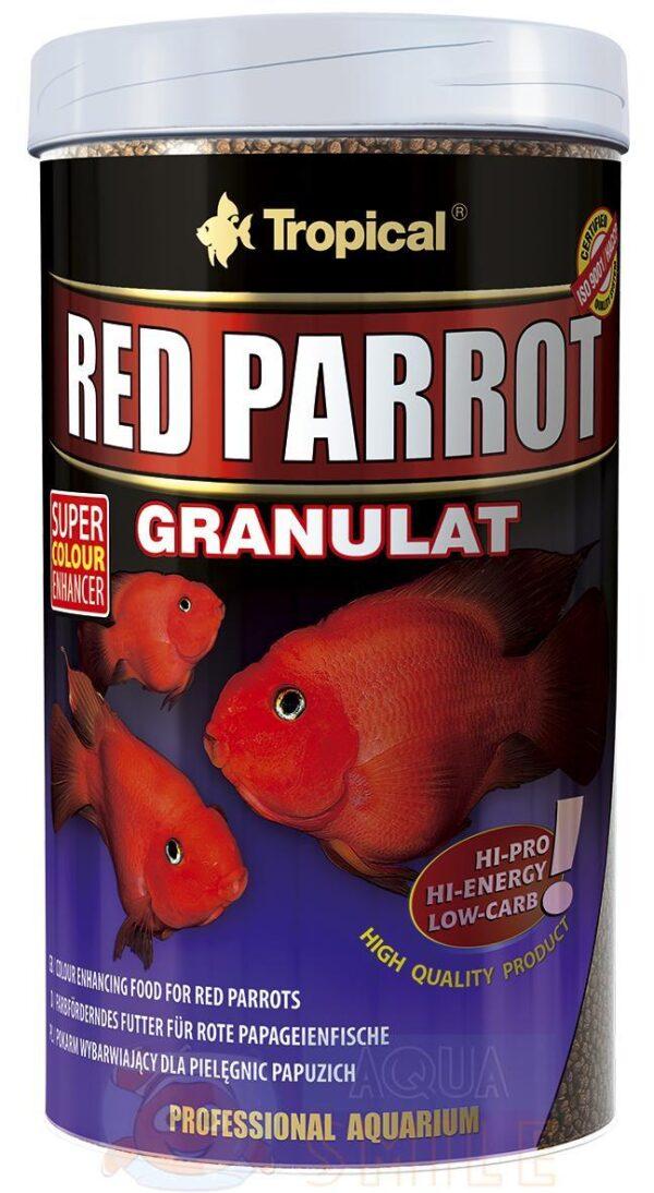 Корм для рыб в гранулах Tropical Red Parrot Granulat