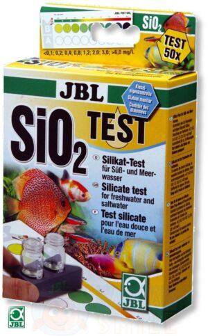 Тест для аквариума JBL Silicate Test Set SiO2 без реагентов