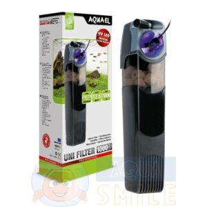 Внутренний фильтр для аквариума Aquael UNIFILTER UV 750