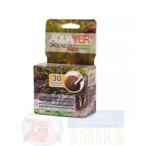 Удобрение для аквариумных растений AQUAYER Удо Ермолаева Железо плюс таблетки 30 шт