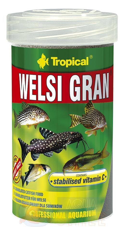Корм для рыб в гранулах Tropical Welsi Gran