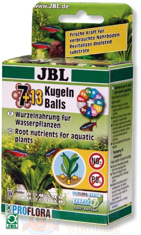 Удобрение для аквариумных растений JBL The 7+13 Balls 20 шариков