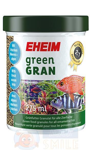 Корм для рыб в гранулах EHEIM greenGRAN