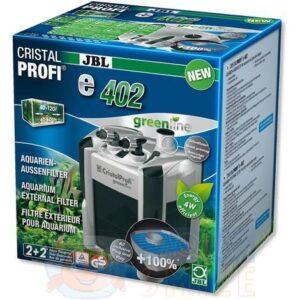 Внешний фильтр для аквариума JBL CristalProfi e402 greenline + подарок
