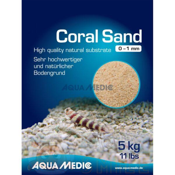 Коралловый песок для аквариума Aqua Medic Coral Sand 0 — 1 мм