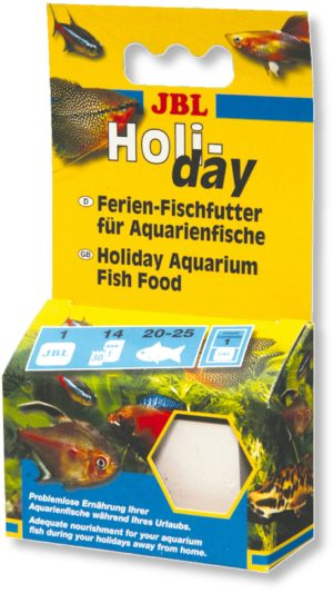 Корм для рыбок на время отпуска JBL Holiday 1 блок