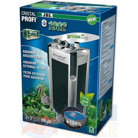 Внешний фильтр для аквариума JBL CristalProfi e1902 greenline
