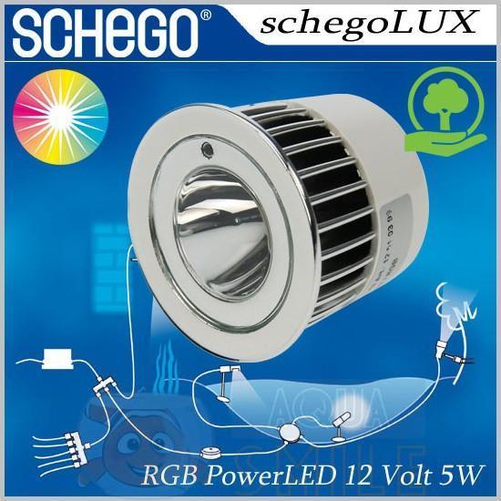 Диодная RGB лампа ShegoLUX — max 3 Вт