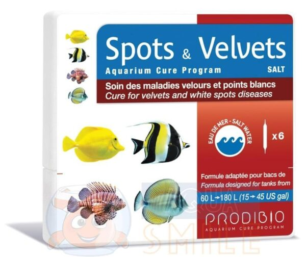 Средство против криптокариона Prodibio Spots & Velvets Salt 6 ампул