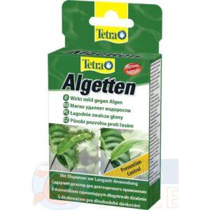 Средство от водорослей в аквариуме Tetra Algetten 12 табл.