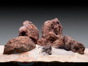 Вулканический камень для аквариума