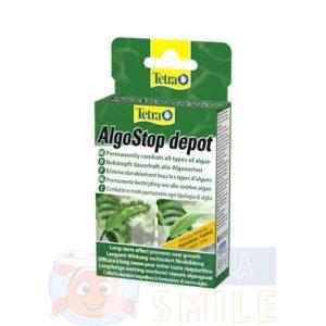 Средство от водорослей в аквариуме Tetra AlgoStop depot 12 таблеток