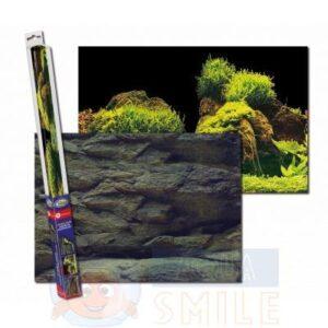 Аквариумный задний фон AQUA-NOVA Скалы/Растения