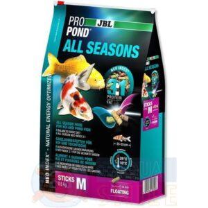 Корм для прудовых рыб JBL ProPond All Seasons M
