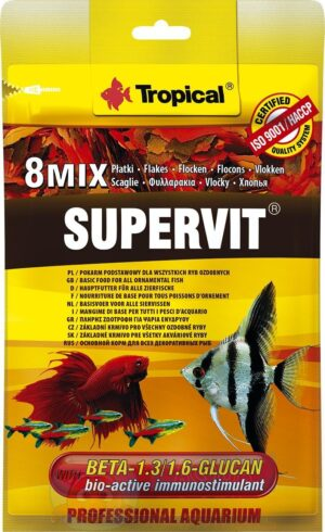 Корм для рыбок хлопья Tropical SuperVit
