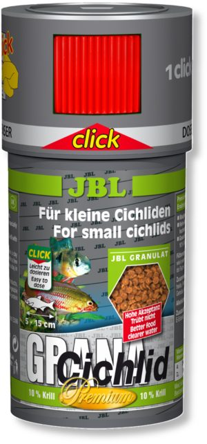 Корм для цихлид гранулы JBL Grana Cichlid Premium