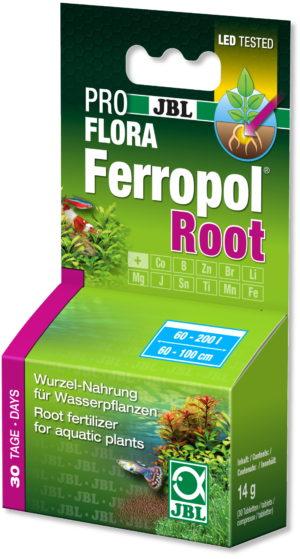 Удобрение для аквариумных растений JBL PROFLORA Ferropol Root 30 таблеток