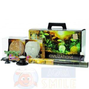 Набор декорации для аквариума H2shOw KIT BOX LOST CIVILIZATION