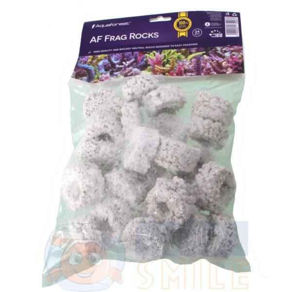 Плашки для посадки кораллов Aquaforest AF FRAG ROCKS, 24 шт