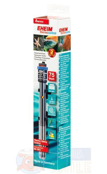 Обогреватель для аквариума Eheim thermocontrol (Jager) 75 Вт