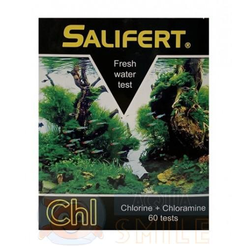 Тест для аквариума на хлор Salifert Chlorine + Chloramine Freshwater Test