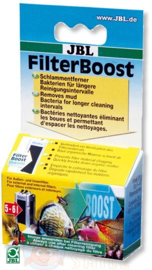 Бактерии JBL FilterBoost 25 г